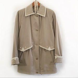 BRAETAN Classic Taupe Mid Length Jacket